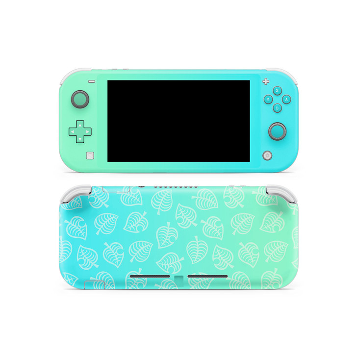 Nintendo Switch Lite AC Leaf Pattern Skin