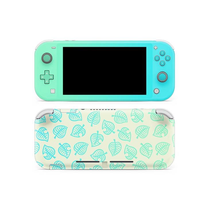 Nintendo Switch Lite AC Leaf Pattern V2 Skin