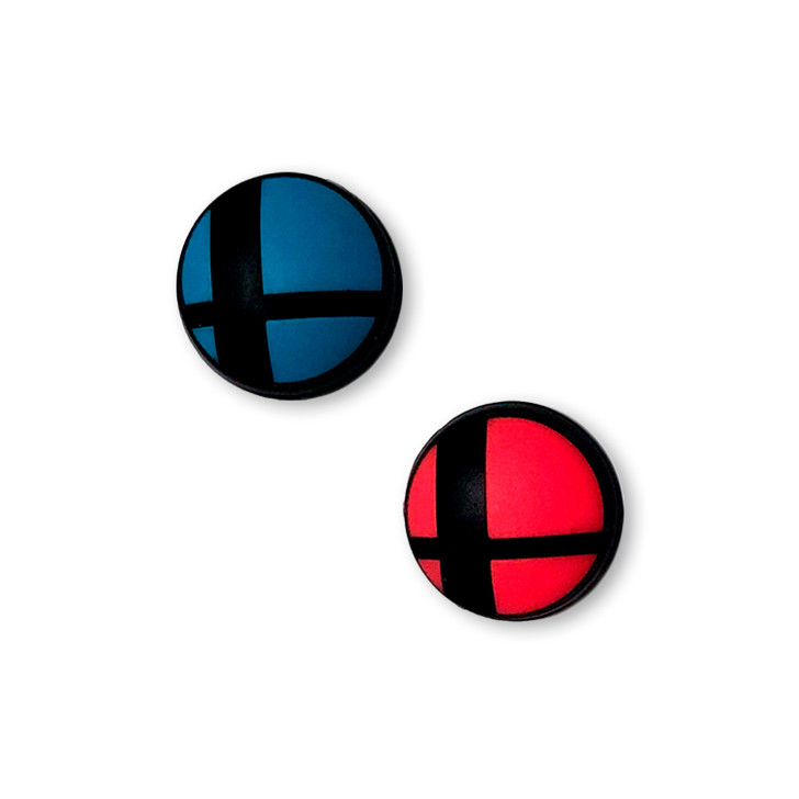 Nintendo Switch & Switch Lite Super Smash Bros Ultimate Theme Thumbstick Grips