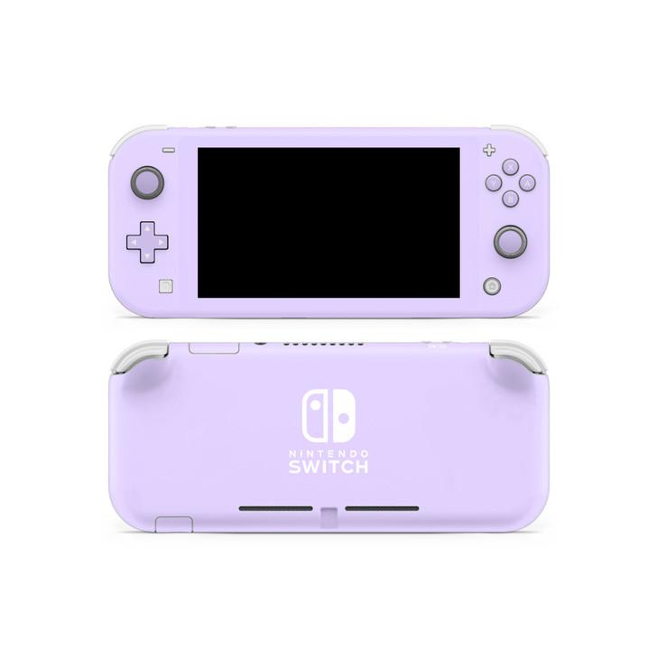 Lavender Nintendo  Switch Lite Skin