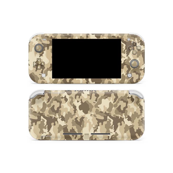 Desert Camouflage Nintendo  Switch Lite Skin