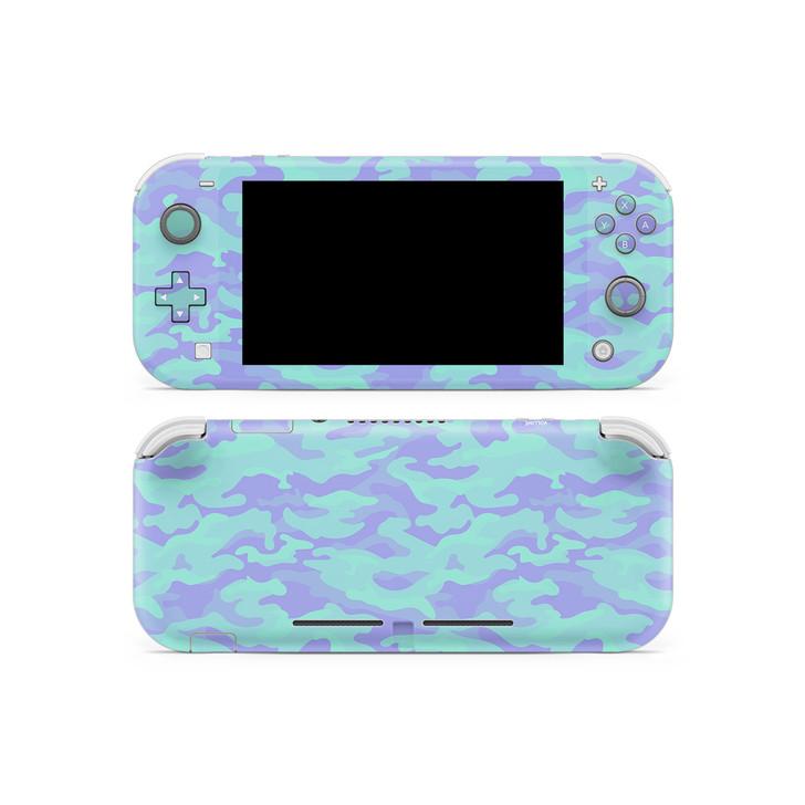Lavender Camouflage Nintendo Switch Lite Skin