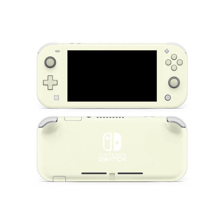Beige Nintendo Switch Lite Skin