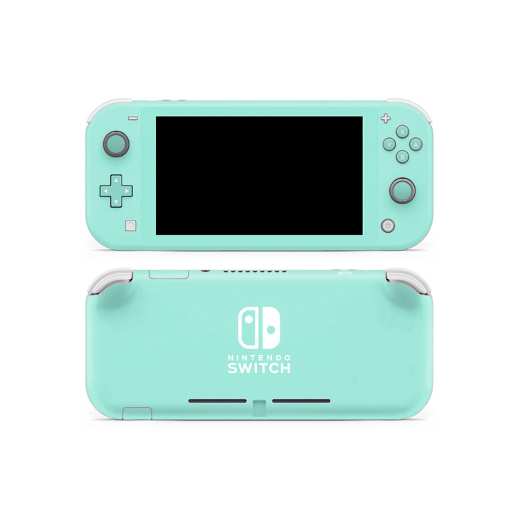 Water Leaf Nintendo Switch Lite Skin