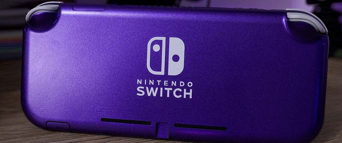 Metallic Purple Nintendo Switch Lite