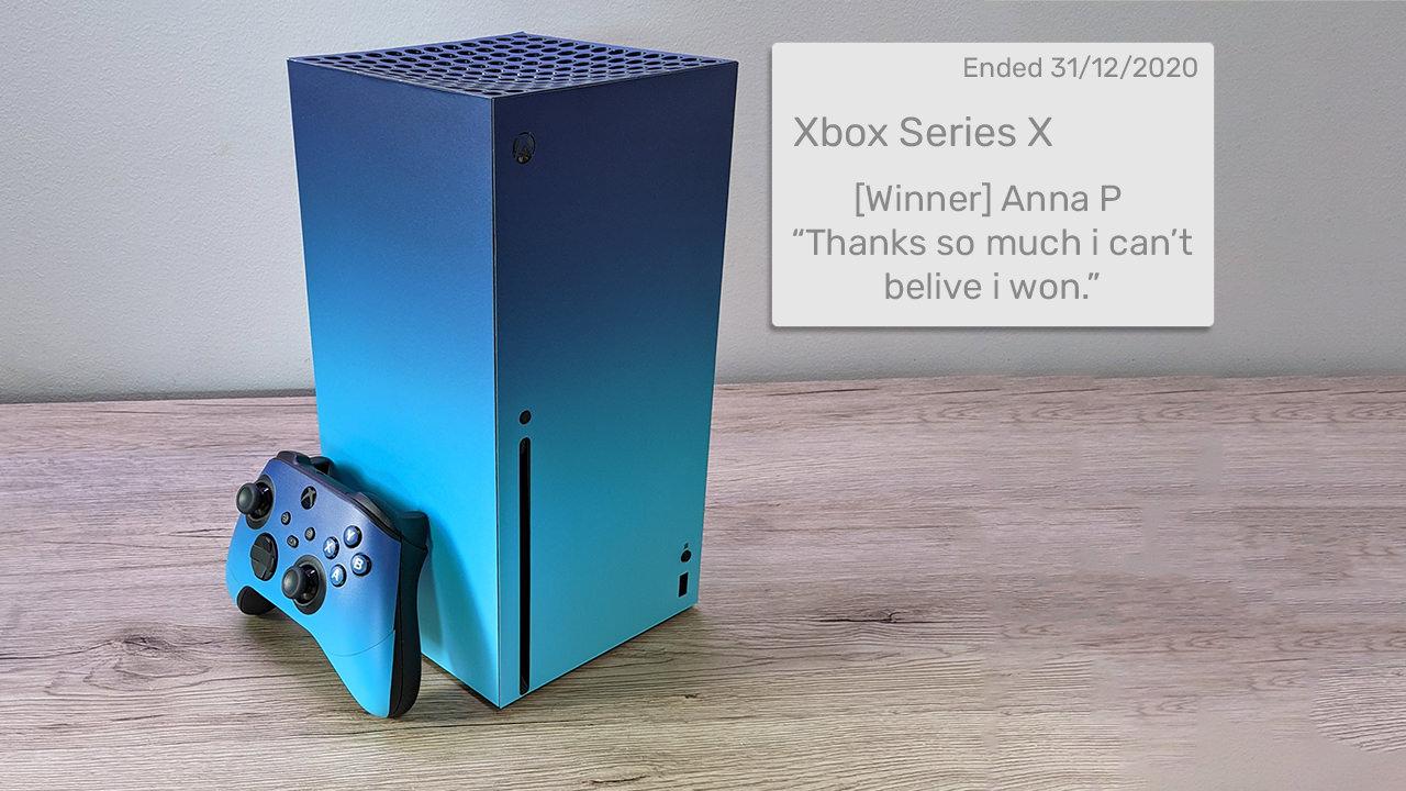 Xbox Series X Giveaway Cyan Sky
