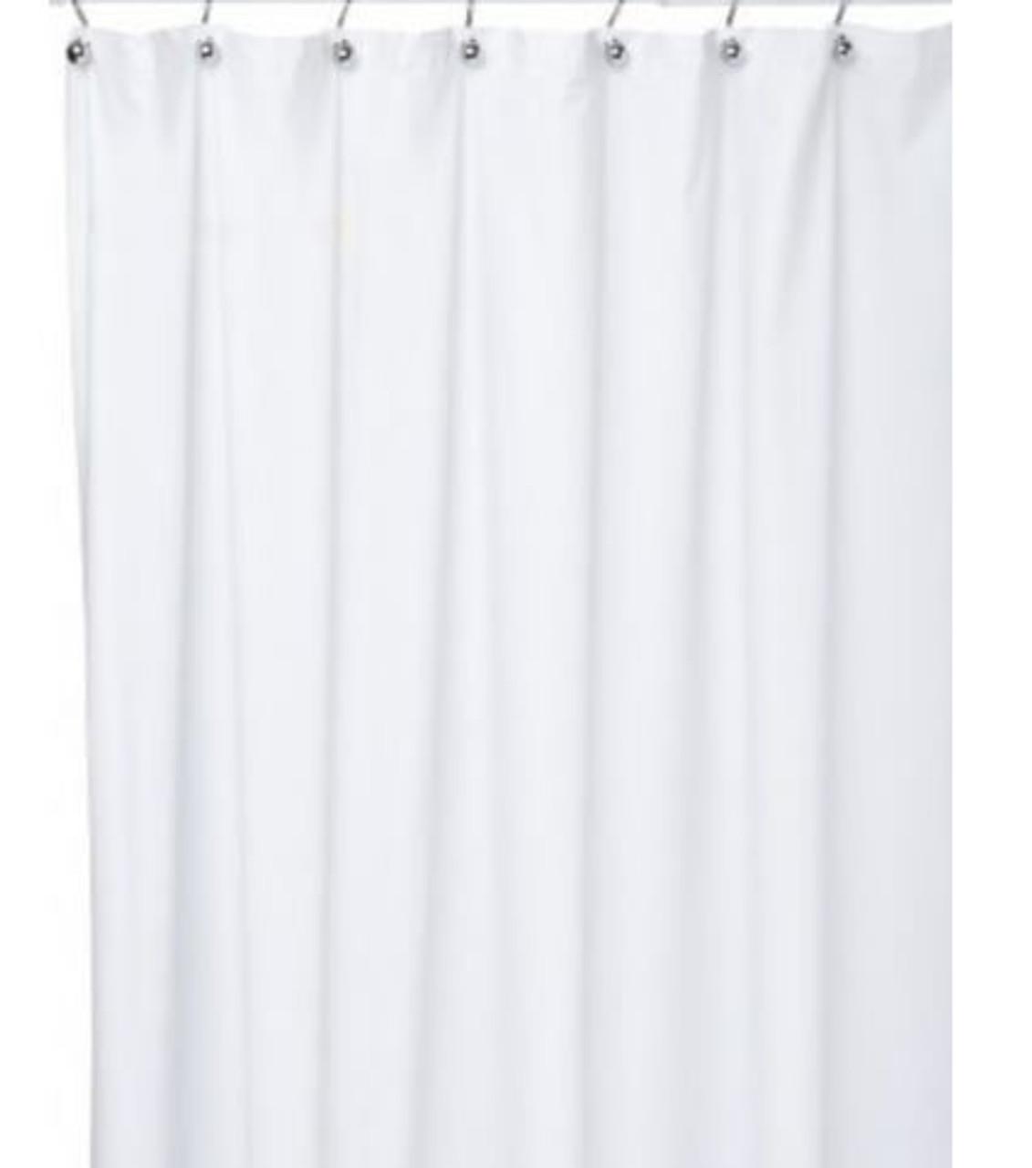 White Vinyl Curtains