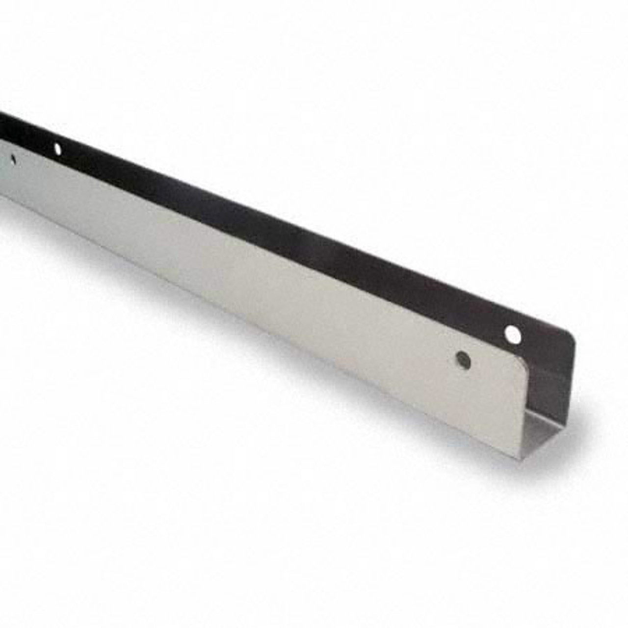 """54"""" x 1"""" Stainless Steel Continuous U-Brackets (6030SS)"""