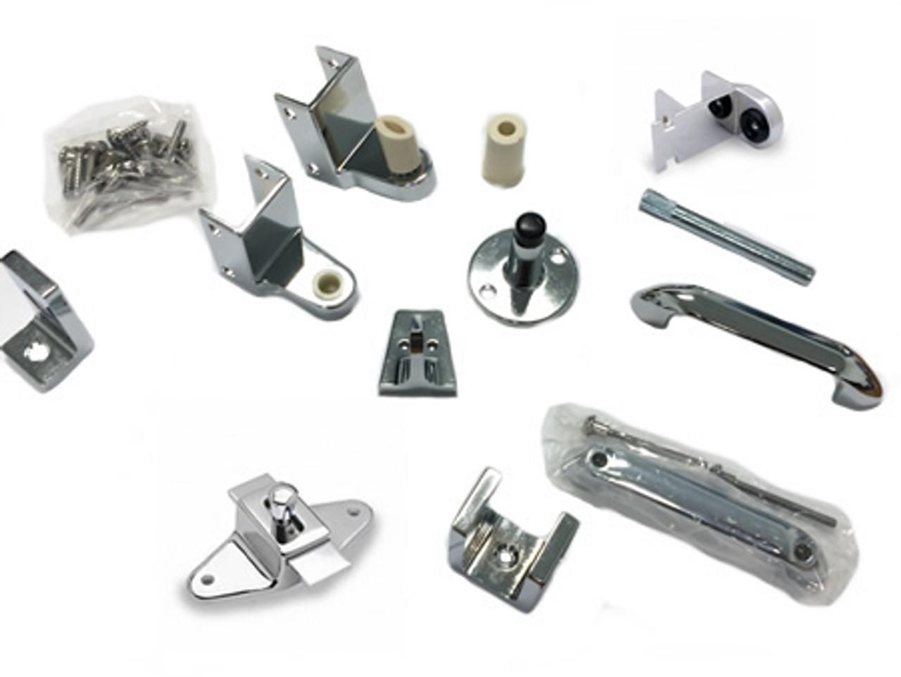 Plastic Laminate Door Kit (ADA) w/ Slide Latch