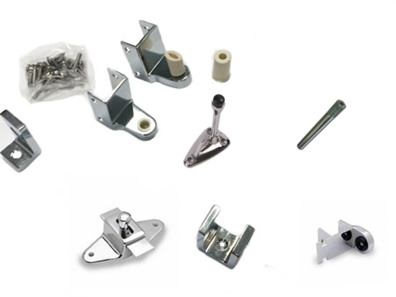 Plastic Laminate Door Kit (Standard) w/ Slide Latch