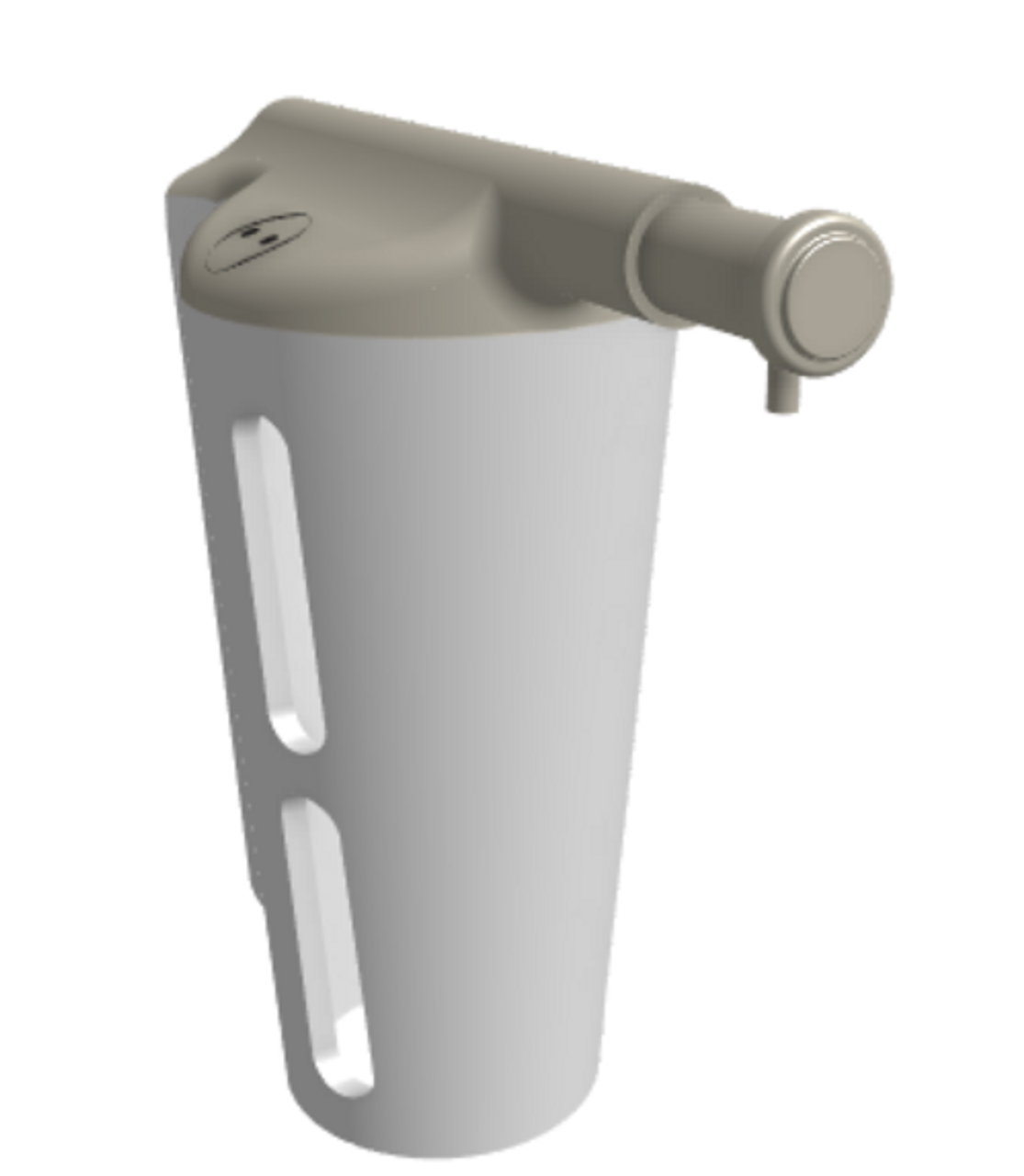 Surface-Mounted Soap Dispenser (GP-503)
