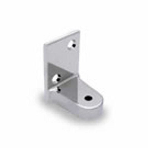 Bottom Hinge Bracket Flat Back Stainless Steel (1250F-B-SS)