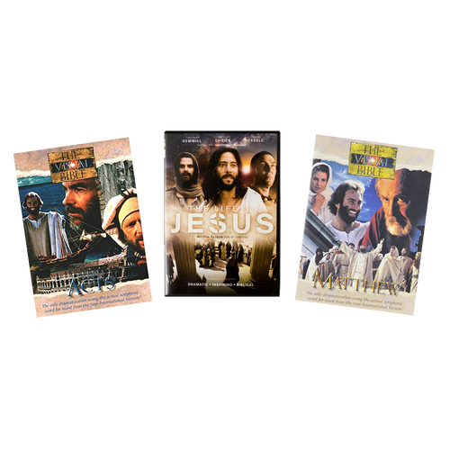 Visual Bible: 3-Episode Set (5 DVDs)