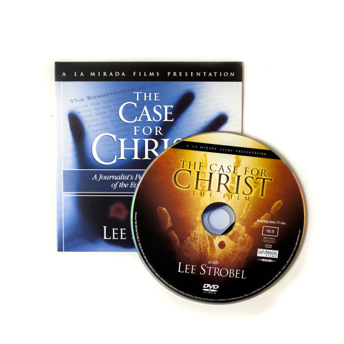 100 Case for Christ Ministry Give-Away DVDs