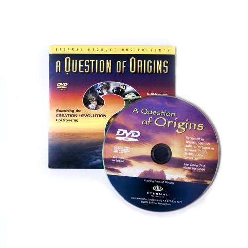10 Question of Origins Ministry Give-Away DVDs
