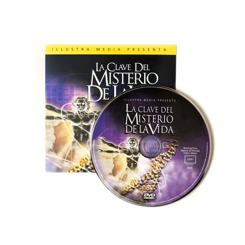 100 Unlocking the Mystery of Life-Spanish Ministry Give-Away DVDs