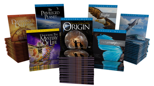 Illustra Media Ministry Give-Away DVD Special  - 50 of any One title for $99.99
