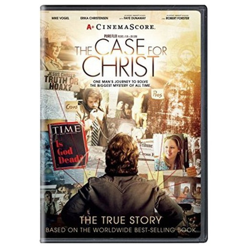 The Case for Christ Feature Film DVD + Bonus CD (2017)