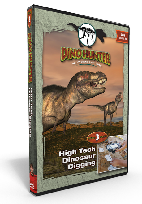 "Dino Hunter ""High Tech Dinosaur Digging"" Episode 3"