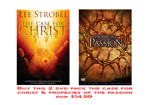 The Case for Christ/Passion of the Prophecies 2 DVD Pack