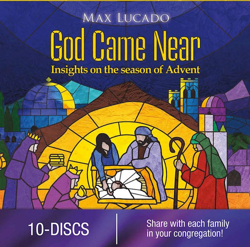 God Came Near Church Edition 10 DVD Set Max Lucado