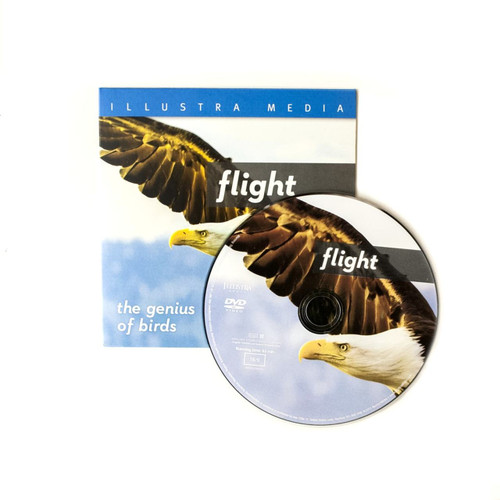 100 Illustra Media Flight DVDs Ministry Give Away