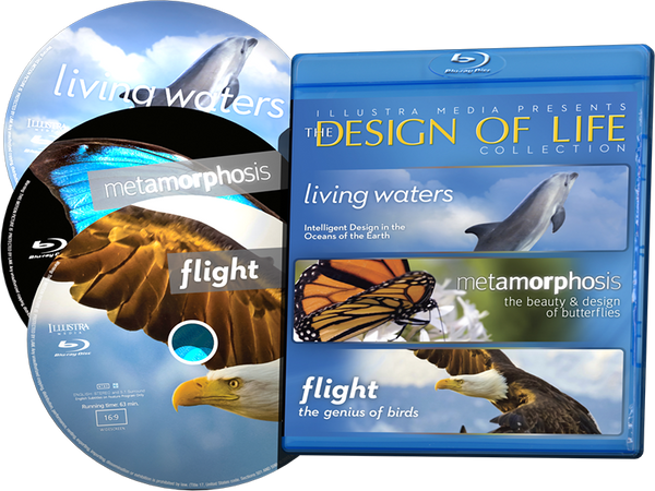 Design of Life Collection 3-Blu-ray Set