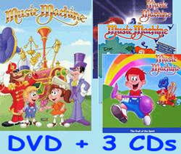 Music Machine DVD & 3-CD Set
