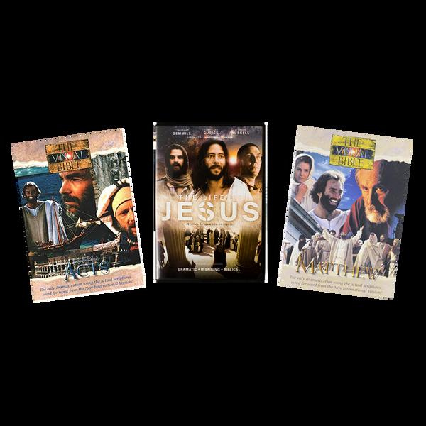 Visual Bible: 3-Episode Set (5 DVDs)