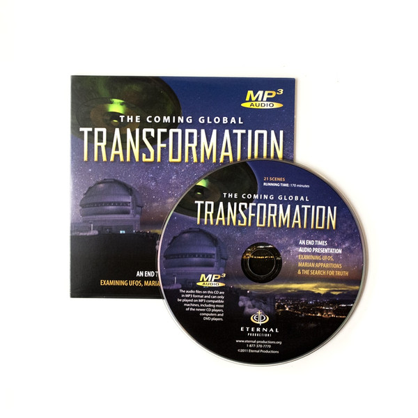 100 Coming Global Transformation Ministry Give-Away CDs