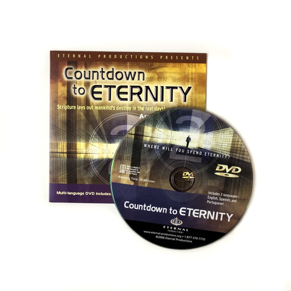 100 Countdown to Eternity Ministry Give-Away DVDs