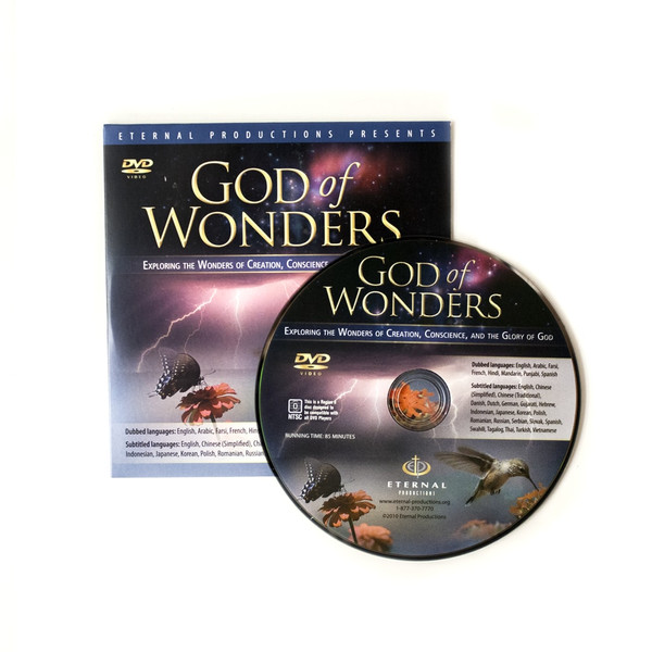 50 God Of Wonders Ministry Give-Away DVDs