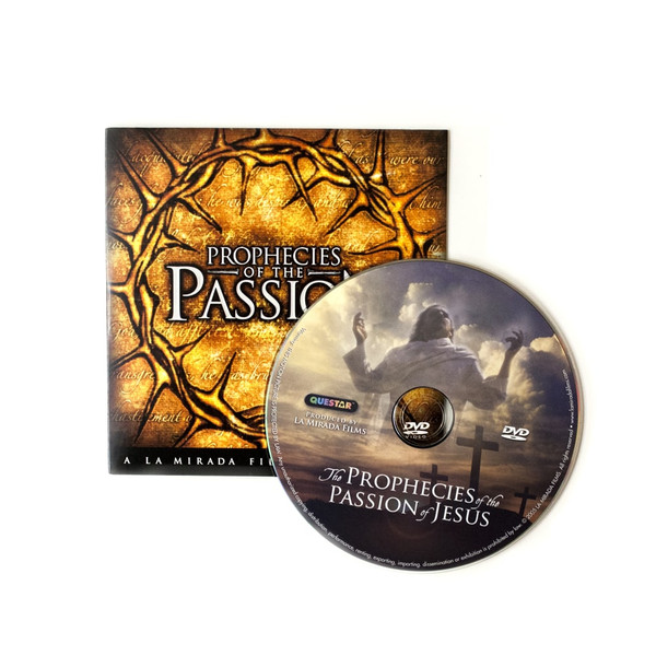 100 Prophecies of the Passion Ministry Give-Away DVDs