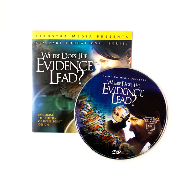 50 Where Does the Evidence Lead? Ministry Give-Away DVDs