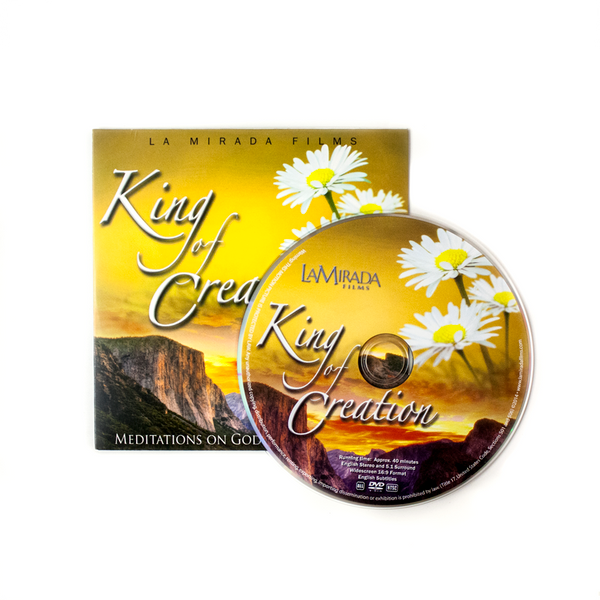 10 King of Creation Ministry Give-Away DVDs