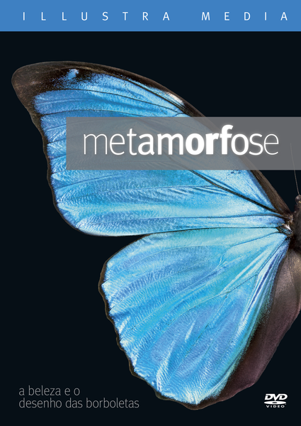 Metamorphosis: The Beauty and Design of Butterflies Portuguese DVD