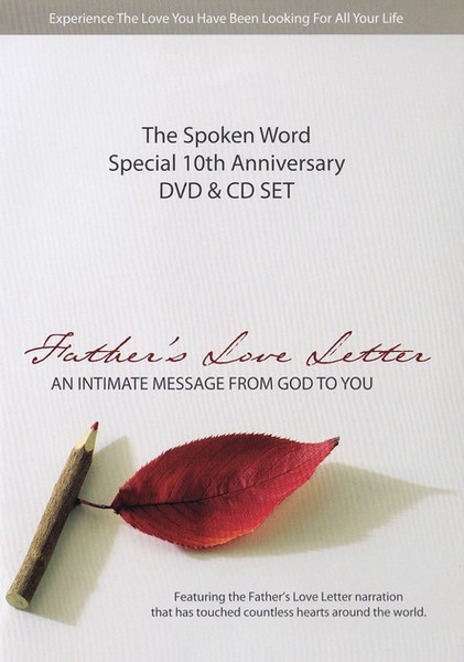 Father's Love Letter Special Edition DVD + CD