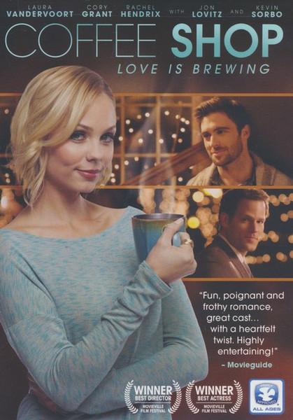 Coffee Shop Love is Brewing DVD