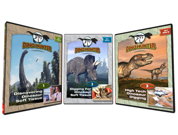 Dino Hunter DVD Set Episodes 1-3