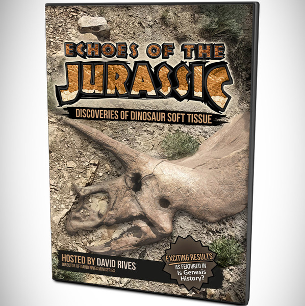 Echoes of the Jurassic DVD