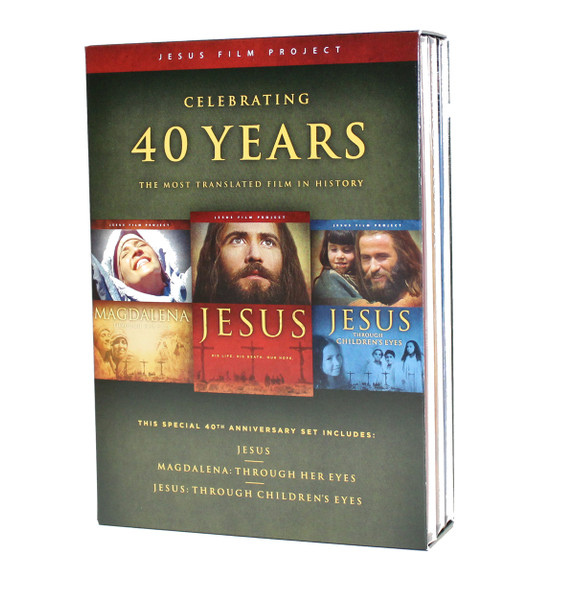 40th Anniversary Jesus Film Project 3 DVD Set