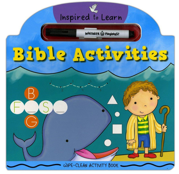 Wipe-Clean Activity Book - Activities (Inspired to Learn Series) Age 2-6