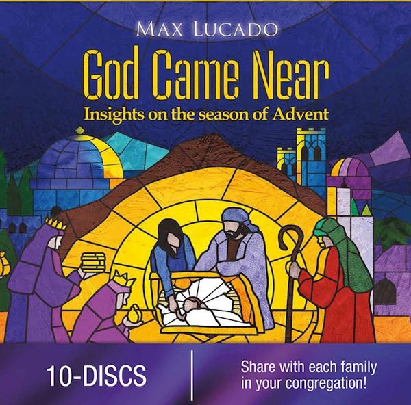 God Came Near Church Edition 10 DVD Set Max Lucado