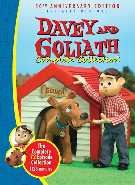 Davey and Goliath Complete 50th Anniversary DVD Edition 72 Episodes