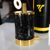 VYRO - One Carbon Black - 24 Karat Gold-Plated