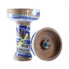 KONG Crazy Space Phunnel Glaze Hookah Bowl (Van Gogh Blue)