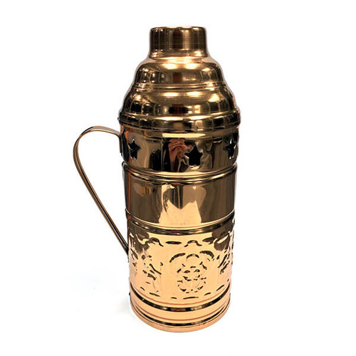 Large Gold Metal Wind Cover