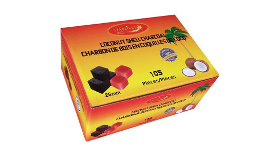 Starlight Coconut Shell Charcoal Cubes 105 Pieces
