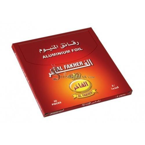 Al-Fakher Pre-Punched Hookah Foil - 50 Pack