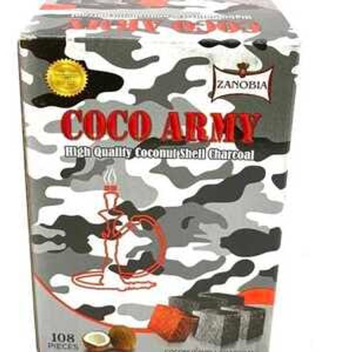 Coco Army Coconut Charcoal (108 pieces – Flats)